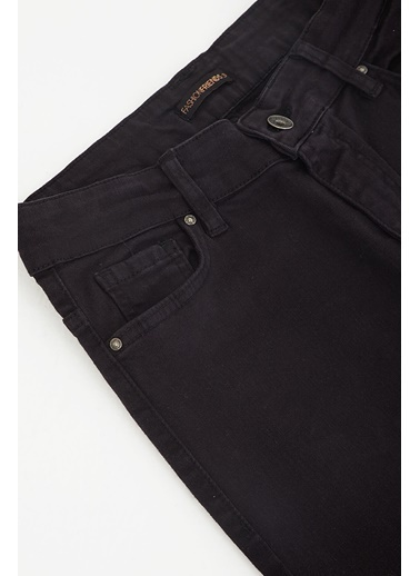 Modaset Yüksel Bel Skinny Fit Pantolon Siyah Siyah